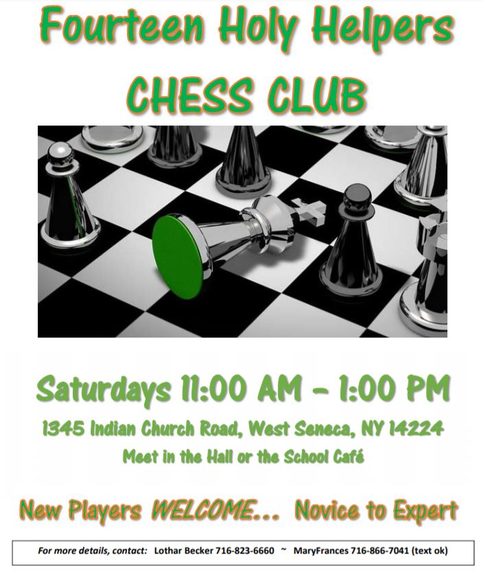 14HH Chess Club information